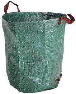 sacco pieghevole per foglie