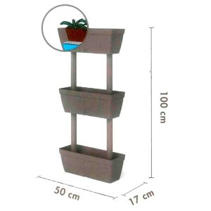 "kit orto verticale Balconetta""Lolego"" Kit"