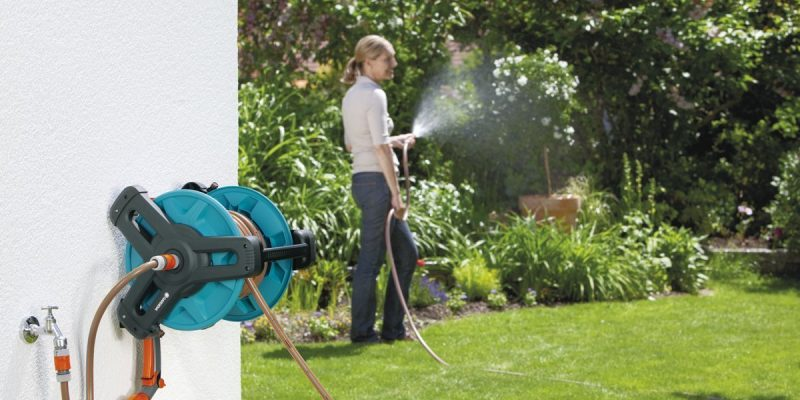 Avvolgitubo | irrigare il giardino senza sforzo e in meno tempo